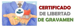 Imagen: Certificado de Libertad de Gravamen