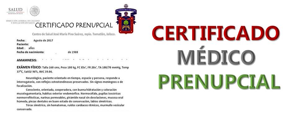 Imagen:Certificado médico Prenupcial