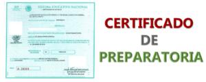 Imagen: Certificado de preparatoria